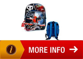 Disney Planes Pixar 16 Kids Backpack School Book Bag ...